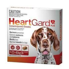 Heartgard Plus 23-45Kg Dog Remedies - 6 Pieces