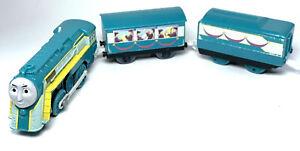 Connor Train Engine w/ Coaches Motorized Train 2012 Thomas & Friends Trackmaster