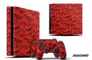 Skin Decal Wrap For PS4 Slim Playstation 4 SLIM Console + Controller Stickers DC