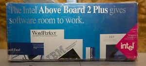 Vintage Intel Above Board 2 Plus Microchannel memory expansion PS/2 IBM 50 60