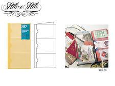 Midori Card File | Refill Midori 007 | Traveler's Notebook Regular Size