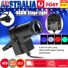 LED Beam Stage Light 30W RGBW DMX Pin Spot Disco Bar Party Effect Lighting Lamp