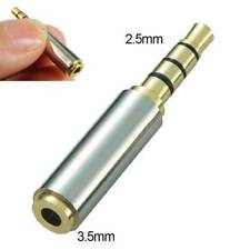 Audio 2.5mm Male To 3.5mm Female Adapter Converter MIC Headphone