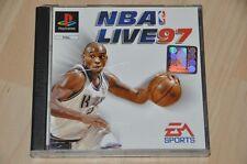 PlayStation 1 juego-NBA Live 97-baloncesto-EA Sports-completo ps1