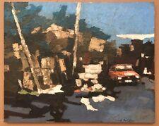 Original Impressionism Oil Painting Canvas  Serguei Novitchkov Certificate 20x25