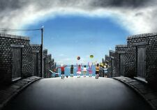 Leigh Lambert limited edition print 'Seaside here we come' -paper print
