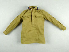 1/6 Scale Phicen, Hot Toys, Kumik, Very Cool Female WWII Khakis Brown Shirt