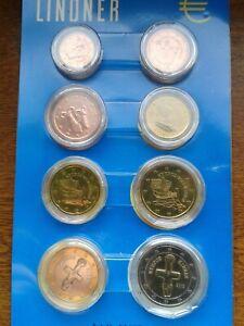chypre 2012 série 8 pièces neuves sous capsules