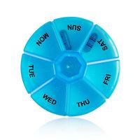 NEU Pillendose Pillenbox Medikamenten box Tabletten dose dosierer 7 Tage Wochen