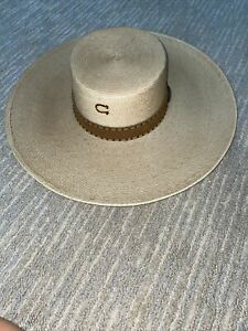 Charlie 1 Horse Mexican Palm Custom Design Hat New W/Tag Vaqueros Copper Color