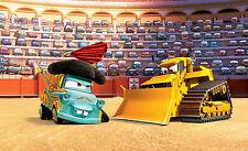 Papel pintado Fotomural Disney Cars Dormitorio De Niños Decoración 254x184cm
