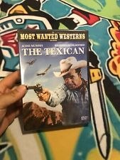 The Texican [ DVD] Subtitled, Widescreen Audie Murphy, Broderick Crawford New!