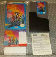 Shadow of the Ninja 1991 Nintendo NES Complete W/ Box, Manual & Dust Cover Good