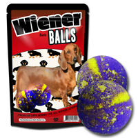 Wiener Balls Bath Bombs - Dachshund Dog Gifts - Funny - Spa - Cute - Fizzers