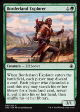 4x Borderland Explorer - MTG Conspiracy: Take the Crown - NEW
