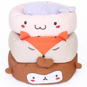 NEW Cartoon Cute Cover Removable Pet Dog Cat Sofa Bed House Kennel Mat Cushion L