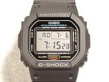 Casio G SHOCK Black Resin Sport Digital Quartz Watch Alarm Chronograph Day Date