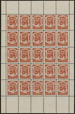 ✔️ COLOMBIA SCADTA 1921 - AIRPLANE - FULL SHEET - SC. C28 ** MNH [SCDT13]