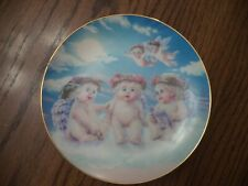 """Dreamsicles """"The Flying Lesson"""" Collector's Plate Hamilton Collection."""