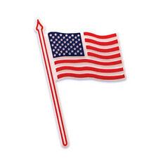 34 American FLAG Cupcake Topper Picks Stars Stripes Red White Blue