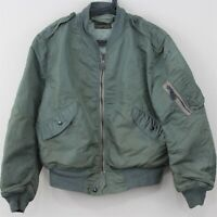 VTG Rolen Sportswear Men Large RARE USAF L-2B Flight Bomber Military Jacket B331