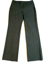 Womens The Limited Gray Pants Size 4 Wide Leg Trouser Work Career