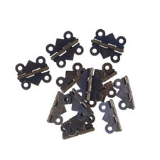 12pcs Decorative Vintage Mini Butterfly Hinges For Cabinet  Size Bronze CE