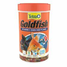 TetraFin Goldfish Flakes 7.06 Ounces, Balanced Diet Fish Food 2 pack Freeship