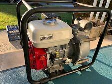 Dayton 4vv64 Engine Driven Semi Trash Pump 40hp 2 Honda Gx120