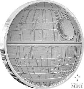2020 STAR WARS: DEATH STAR - 1 OZ. SILVER COIN  Present / Gift