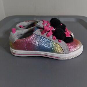 Disney Junior Minnie Mouse Little Girls Toddler Size 11 Shoes Multicolor Sneaker