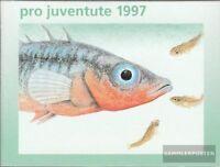 Schweiz MH0-109 (kompl.Ausg.) postfrisch 1997 Pro Juventute