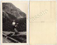 Cartolina di Cortina d'Ampezzo, passo di Falzarego - Belluno