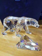 Swarovski SCS 2011 Polar Bear SIKU Figurine #1053154 NIB