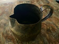 18th Century Copper Ale Pitcher (American)