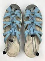 Keen Womens Water Shoes Sandals Size 8.5 Outdoors Blue Used