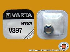 100 x Varta V397 SR726SW SR59 SR927 AG2 oxyde d'argent HORLOGE batteries
