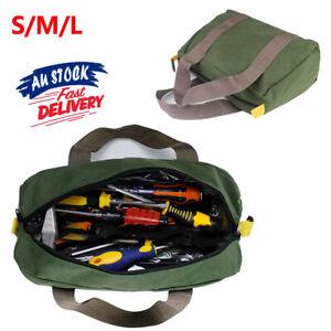 Waterproof Case Canvas Duty Tool Bag Portable Storage Toolkit Hand Heavy