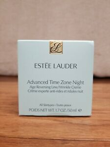 ESTEE LAUDER Advanced Time ZONE NIGHT Age Reversing Line Wrinkle Creme 1.7oz NIB