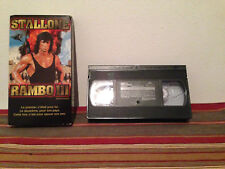 Rambo III (VHS, 1999) Tape & sleeve FRENCH