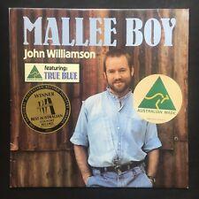 JOHN WILLIAMSON Mallee Boy FESTIVAL RECORDS 1986 Inner AUSTRALIA VINYL LP NM