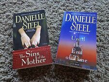 Danielle Steel (2) EUC paperback books: The Sins of the Mother & Until the end..
