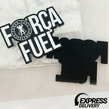 FORCA FUEL VELCRO RUBBER PVC PATCH    TACTICAL   BAG   BADGE   Express Shipping
