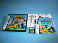 Pokemon Mystery Dungeon: Explorers of Sky Nintendo DS Lite w/Case Manual Inserts