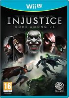 Injustice - Gods Among Us For PAL Wii U (New & Sealed)