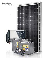 Sistema solare impianto fotovoltaico 50wp + tedesco regolatore di carica +230v/300 W INVERT