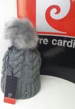 Cappello donna PIERRE CARDIN con pon pon di pelliccia sintetica 8d922ebcd2d2