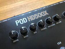 Line6 POD HD500X Gitarren oder Bass Multieffektgerät inkl. Netzteil
