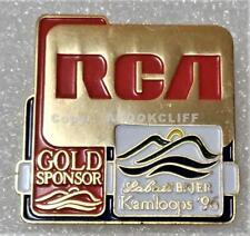 1996 LABATT BRIER KAMLOOPS PIN Mint PEI OVER NFLD RCA Uncommon