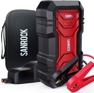 Sanrock 2500A Pic 22800mAh Portable Voiture Sauter Starter Batterie Chargeur